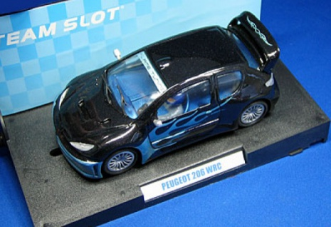 Peugeot 206 WRC Slotcar 1:32 von TEAMSLOT