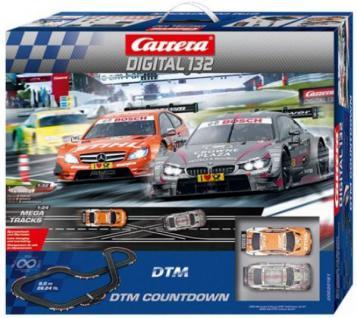 Carrera Digital 132 DTM Countdown 8m 30181