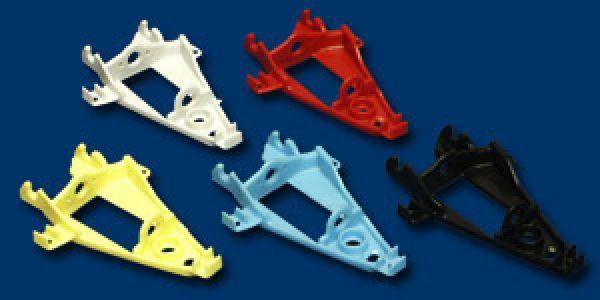 Motor-/Achshalter Triangular IL Extra Hard Red 1Stück 1254