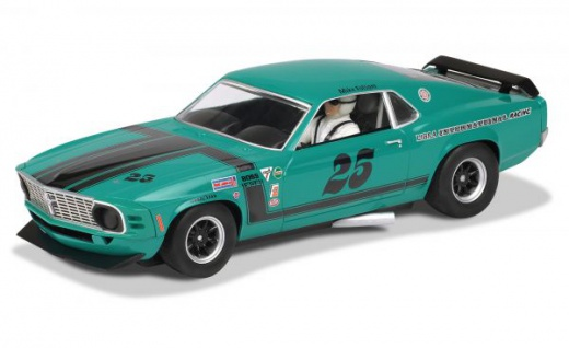 Scalextric Ford Mustang 1970 Boss 302 Slotcar 1:32 Art. 3318