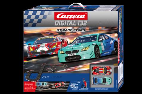 Carrera Digital 132 GT Race Stars 7, 3m 20030005