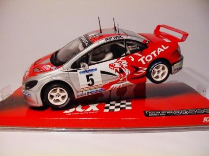 SCX Peugeo 307 Allrad 4X4 WRC Slotcar 1:32 64510