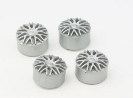 Felgeneinsatz Silber 4Stück für 16mm Felge NSR 5425