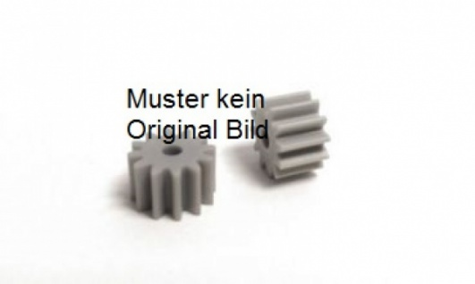 Motorritzel Nylon für Motorwelle 2mm / 8 Zähne 1Stück