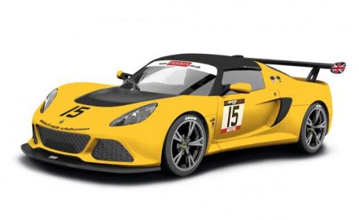 Scalextric Lotus Exige V6 Cup RArt 3509