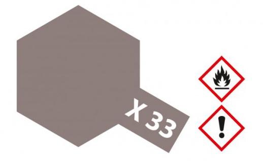 Tamiya, Acrylfarbe X-33 Bronze glänzend, 23ml Tamiya 81033