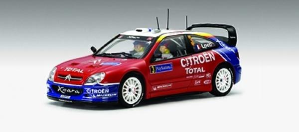 Citroen Xsasa WRC 2004 Nr 3 Slotcar von Autoart Art 13522