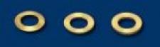 NSR Leitkieldistanzen 0, 50mm (innen ß3.6mm) 10 Stk. NSR 4820