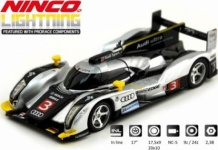 Audi R18 Lightning Slotcar 1:32 von Ninco Art 50642