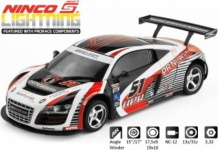 NINCO Sport Audi R8 Daytona Slotcar 1:32 von Ninco 50623