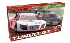 Scalextric Micro Audi GT Turbo Rennbahn 1:64