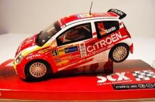 SCX Citroen C2 JWRC 2005 Slotcar 1:32 62320