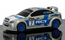 Scalextric RCT Team Rally Car Nr 7 Slotcar 1/32 3712