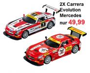 Carrera Evolution 2X Mercedes-Bens SLS AMG GT3