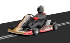 Scalextric Kart 1 Nr. 8 Schwarz 3667