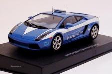 Lamborghini Gallardo Police Car Slotcar 1:24 von AutoArt 14741