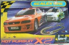 Scalextric HOT PURSUIT SET Komplet Set c1147