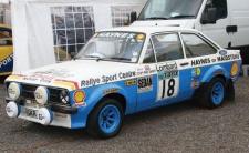 Scalextric Ford Escort MK.II 18 Blau HD 3636