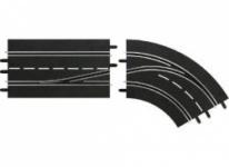 Carrera Digital 124/132 Spurwechselkurve Rechts-innen nach außen 30364