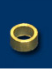 Achsdistanz Messing 1.50mm 3/32 (10Stück) 4814