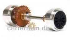 Hinterradachse Set Anglewinder 32Z/12 u.ß17, 3 x 9, 75mm Alufelgen f.Ninco u.ä.
