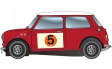 Scalextric Mini Cooper S 5 RAC Rally 1966 3747