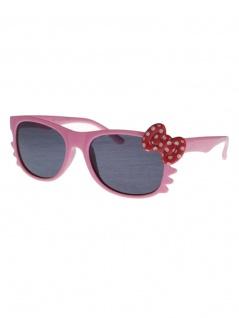 Sonnenbrille pink 50er Rockabilly Style Schleife rot