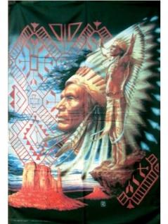 Wild West Posterfahne