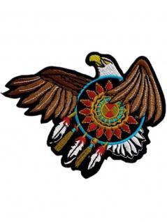 Aufnäher Indianer Adler