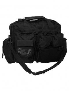 Multifunktion Tasche mit Schultergurt schwarz