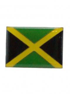 Emaille Pin Fahne Jamaika