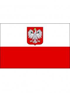 Fahne Polen rot weiß