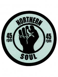 Aufnäher Northern Soul 45 Rpm