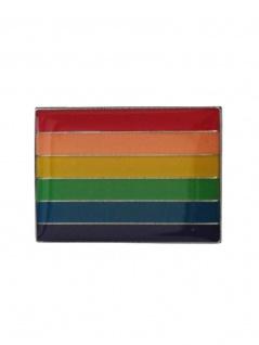 Anstecker Pin Flagge Regenbogen