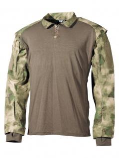 US Tactical Hemd Langarm HDT-camo FG