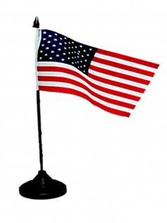 Tischfahne USA