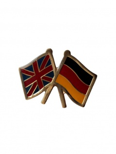 Anstecker Pin Flags England Germany