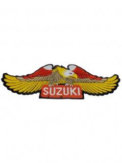 Aufbügler groß Adler Suzuki