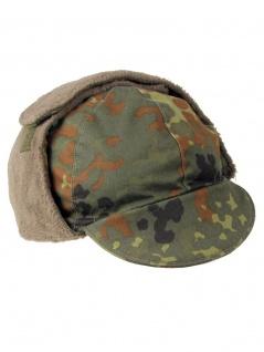 Bundeswehr Wintermütze flecktarn gebraucht