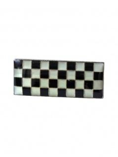 Anstecker Pin Flagge kariert