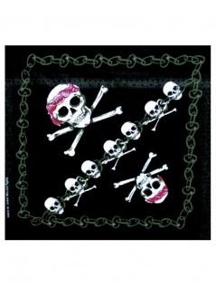 Bandana Piraten Totenkopf