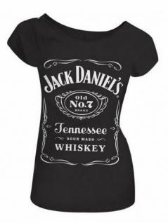 Damen Jack Daniel`s T-Shirt Old No. 7