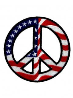 Aufnäher Peace USA