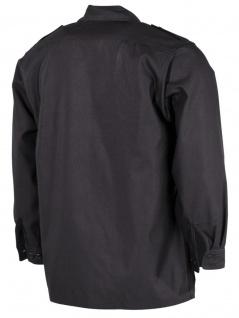 US Langarm Outdoor Hemd schwarz - Vorschau 2