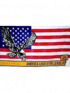 Fahne USA Adler