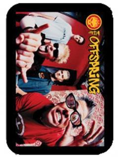 3 Aufkleber The Offspring Faces