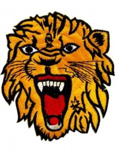 Aufnäher Löwe gelb