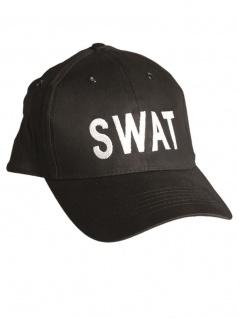 Baseball Cap SWAT schwarz