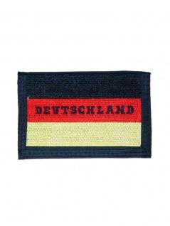 Geldbeutel mit Kette Deutschland Fahne