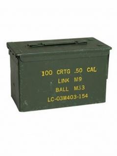 U.S. Munitionskiste Cal.50 gebraucht
